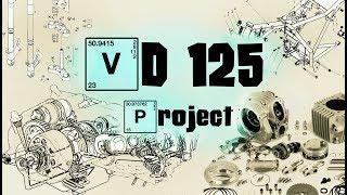 VD125 (Серия №2) - Колеса для кастома