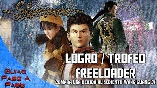Video de Shenmue HD | Logro / Trofeo: Freeloader