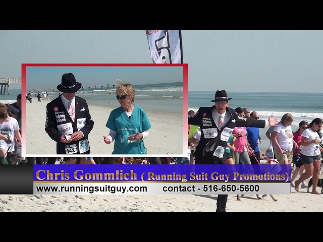 Ruff Rubs Review of Advertising with Running Suit Guy Promotions