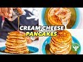 Low-Carb Breakfast - Cream Cheese Pancakes Recipe