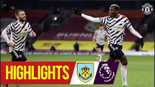 Pogba stunner seals crucial win | Burnley 0-1 Manchester United | Highlights | Premier League