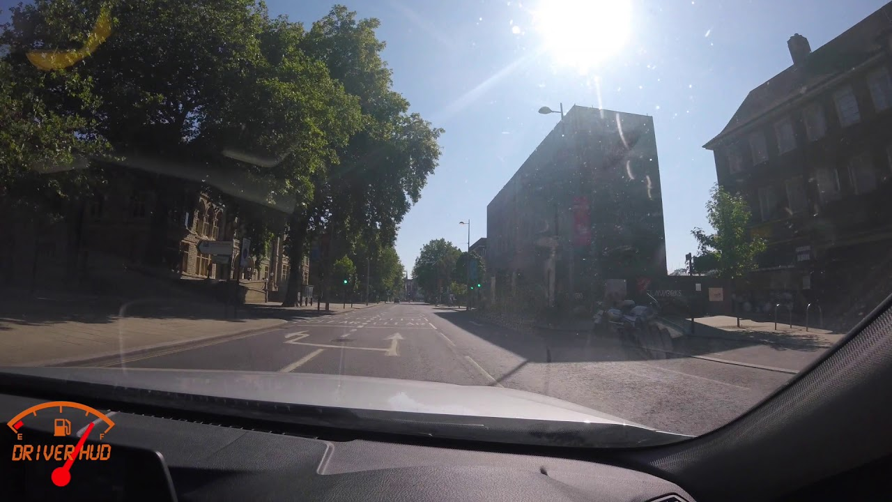 Hanwell to WEST Ealing to Ealing Broadway UK roads England Drive view POV drivers seat Episode 6.