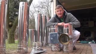 видео Схемы прокладки дымохода для газового котла: нюансы монтажа