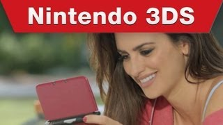 Nintendo 3DS - Penelope Cruz and Monica Cruz have a bet over New Super Mario Bros 2