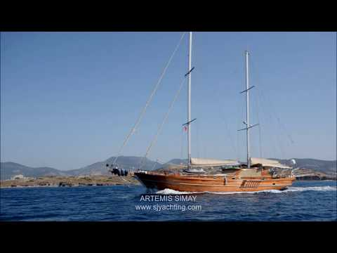 Luxury gulet yacht sailing charters & Blue Cruise holidays in Turkey & Greece ARTEMIS SIMAY