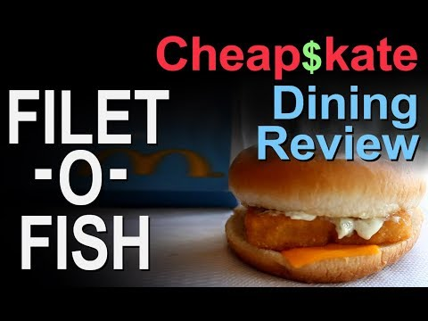 McDonald's Filet-O-Fish - Cheap$kate Dining Review