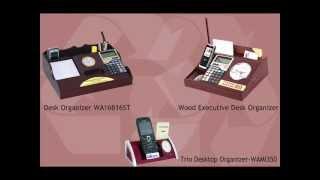 Promotional Desktop Organizers