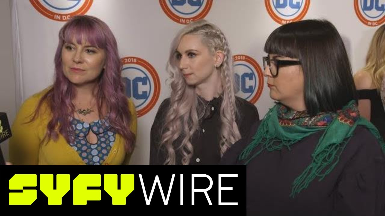 DC Superhero Girls & Supergirl Creative Team On Teenage Superheroes | SYFY  WIRE