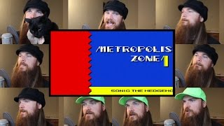Repeat youtube video Sonic 2 - Metropolis Zone Acapella