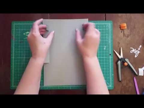 A2 Card Box Tutorial