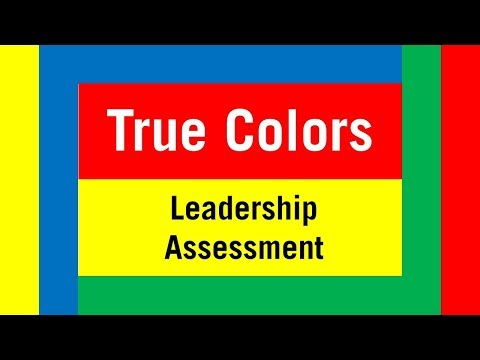 True Colors Leadership Assessment