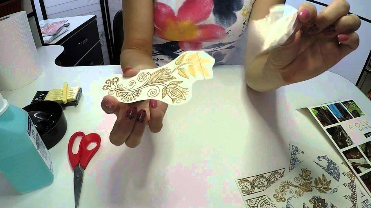 Как сделать флеш тату своими руками