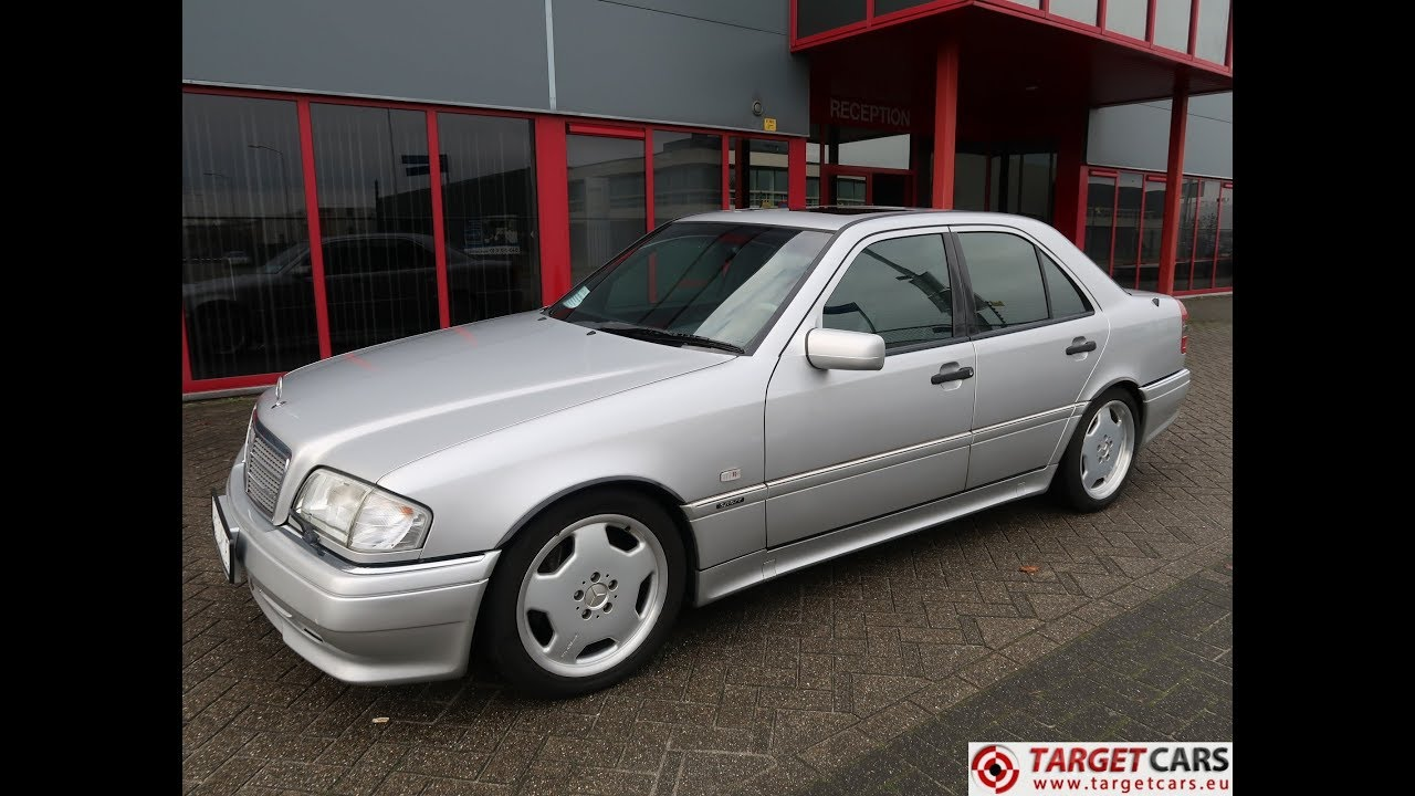 751098 MERCEDES C36 AMG 3.6L V6 280HP AUT 01-97 SILVER 64818KM LHD on