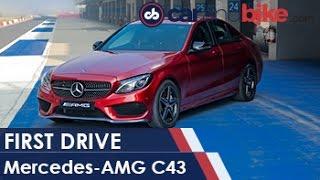 Mercedes AMG C43 First Drive   NDTV CarAndBike