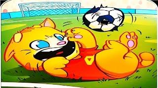 Говорящий Джинджер  рыжий говорящий котик #12 Весёлое видео для детей Talking Ginger #Мобильные игры