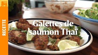 Galettes de saumon Thaï