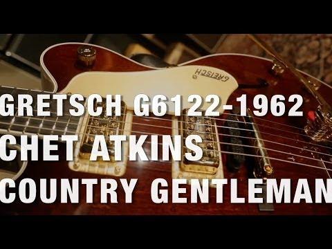 Gretsch G6122-1962 Chet Atkins Country Gentleman Overview