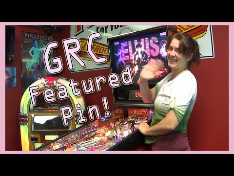 ELVIS Pinball Machine ~ GRC Feature Review & Gameplay!