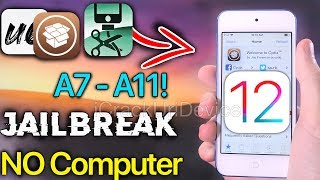 NEW Jailbreak iOS 12 - 12.1.2 A7-A11! Unc0ver NO COMPUTER Jailbreak iOS 12.1.2 Tutorial