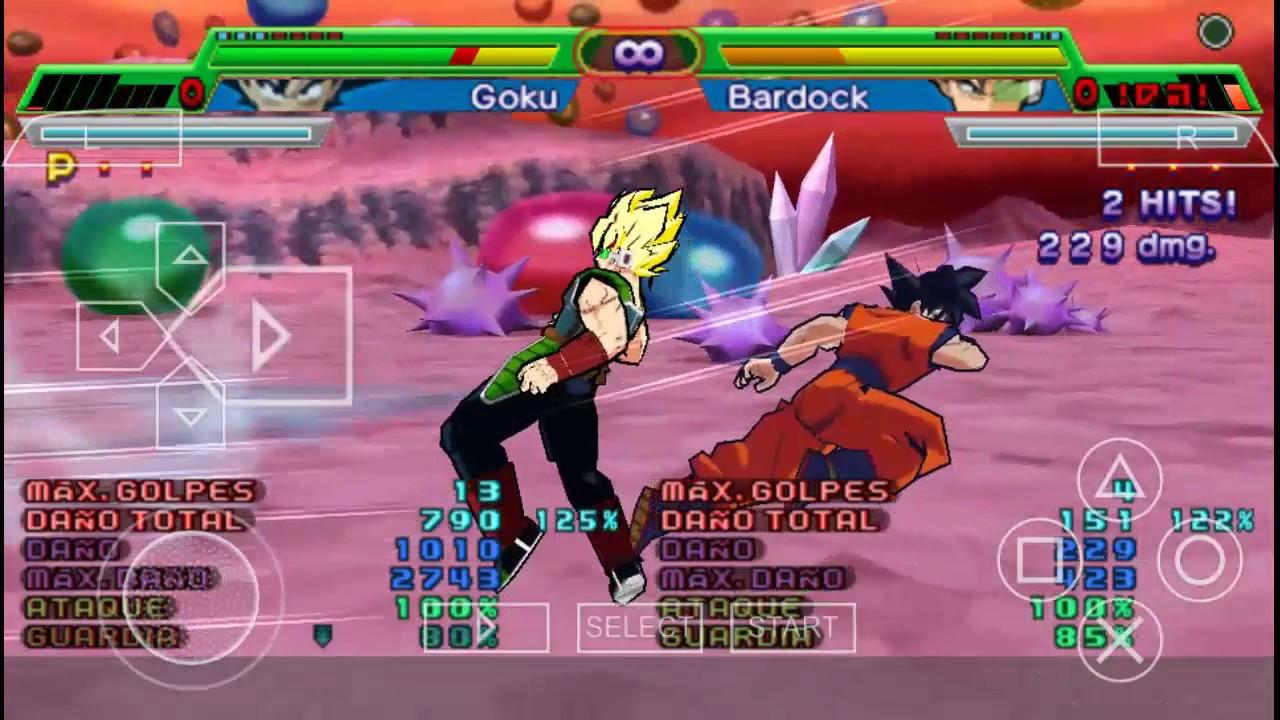 Game Ppsspp Dragon Ball Z Shin Budokai 5 | Gameswalls org