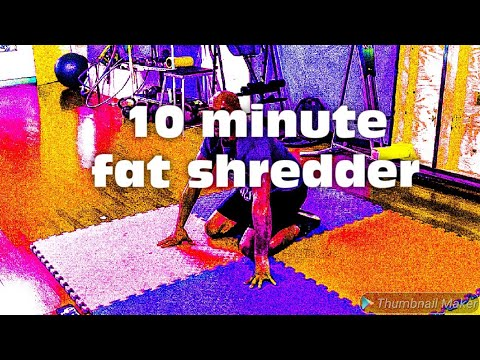 Why this 10 minute FAT BURNING Shredding High Intensity Interval Training Workout is best for 2020
