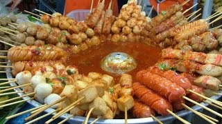 Asian Street Food - Fast Food Street in Asia, Cambodian food #134, Popular Foods