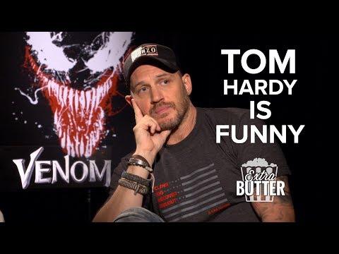 Tom Hardy is Funny: Awkward Venom   Extra Butter