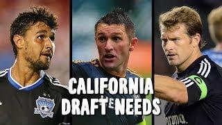 LA Galaxy, Chivas, San Jose - Cali draft needs