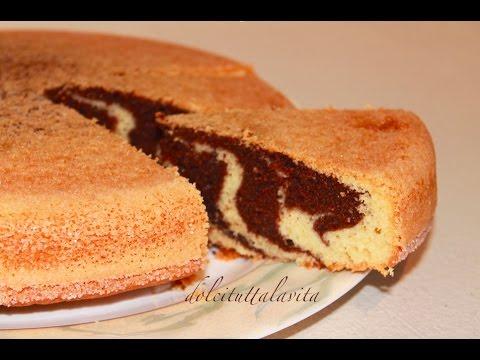 TORTA PARADISO ZEBRATA SOFFICE VANIGLIA E CACAO  ZEBRA CAKE