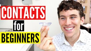 Contact Lenses for Beginners | How to Put in Contacts