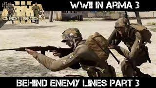 ArmA 3 Gameplay - WWII - Behind Enemy Lines part 3 - Liru as Zeus
