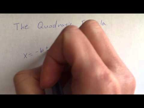Quadratic Formula Song: Pop Goes The Weasel