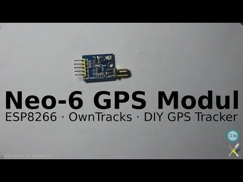 [ICStation.com] BitBastelei #261 - GPS-Tracker mit Neo-6/7-Modul und ESP8266