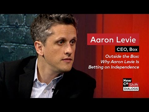 Box CEO Aaron Levie on Betting on Independence | NewCo Shift Dialogs