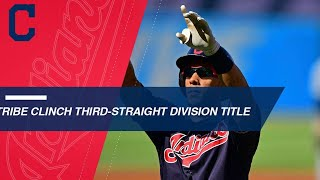 Indians clinch division for third-straight year