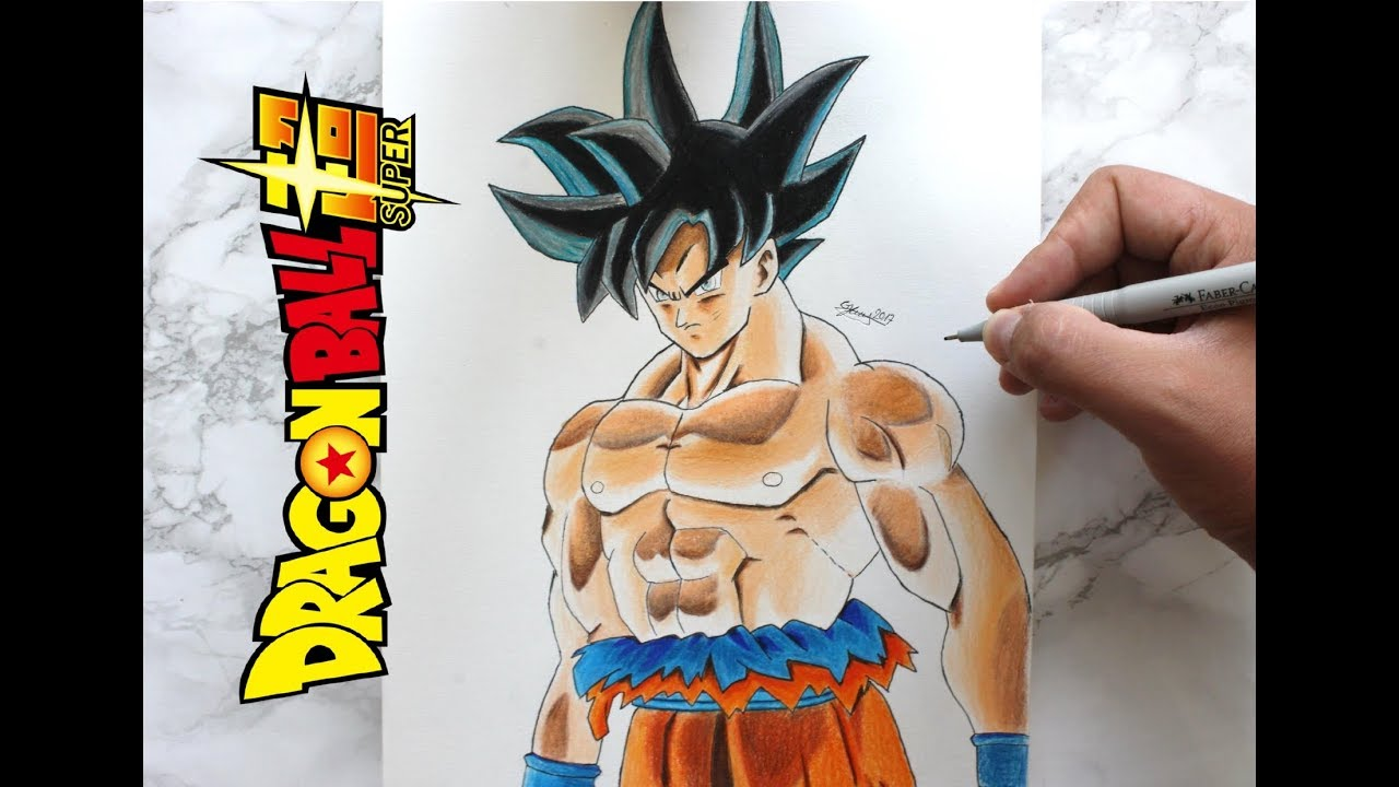 La nouvelle transformation de goku devoilee dragon ball super comment dessiner son goku - Dessin sangoku ...