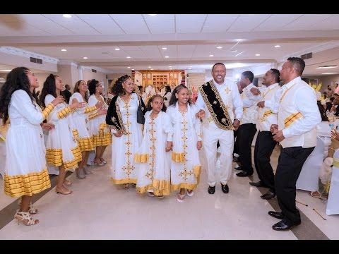 Ethiopian best, amazing beautiful wedding, 2016. Bancheamlak and Solomon