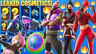 new-all-leaked-fortnite-skins-amp-cosmetics-free-reward-llama-hero-sushi-ninja-cuddle-remix