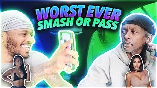 MULARJUICE WORST EVER SMASH OR PASS WITH MADUNCKS FT HIS GIRLFRIEND (HE GOT SO MAD)