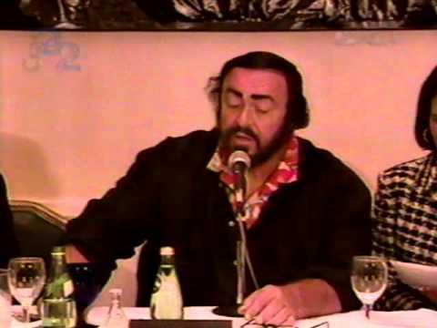 Pavarotti en Bellas Artes México 1997 (fragmentos)