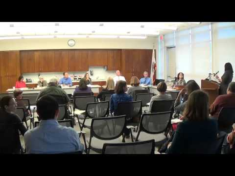 Orinda School Board Meeting, Sept. 15, 2015, part 2