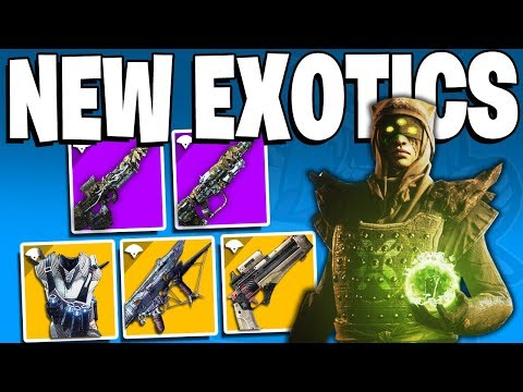 Destiny 2: RAID EXOTIC & Weapons, Infinite POWER LEVEL, NEW WARLOCK EXOTIC, NEW VEX ARMOR & More