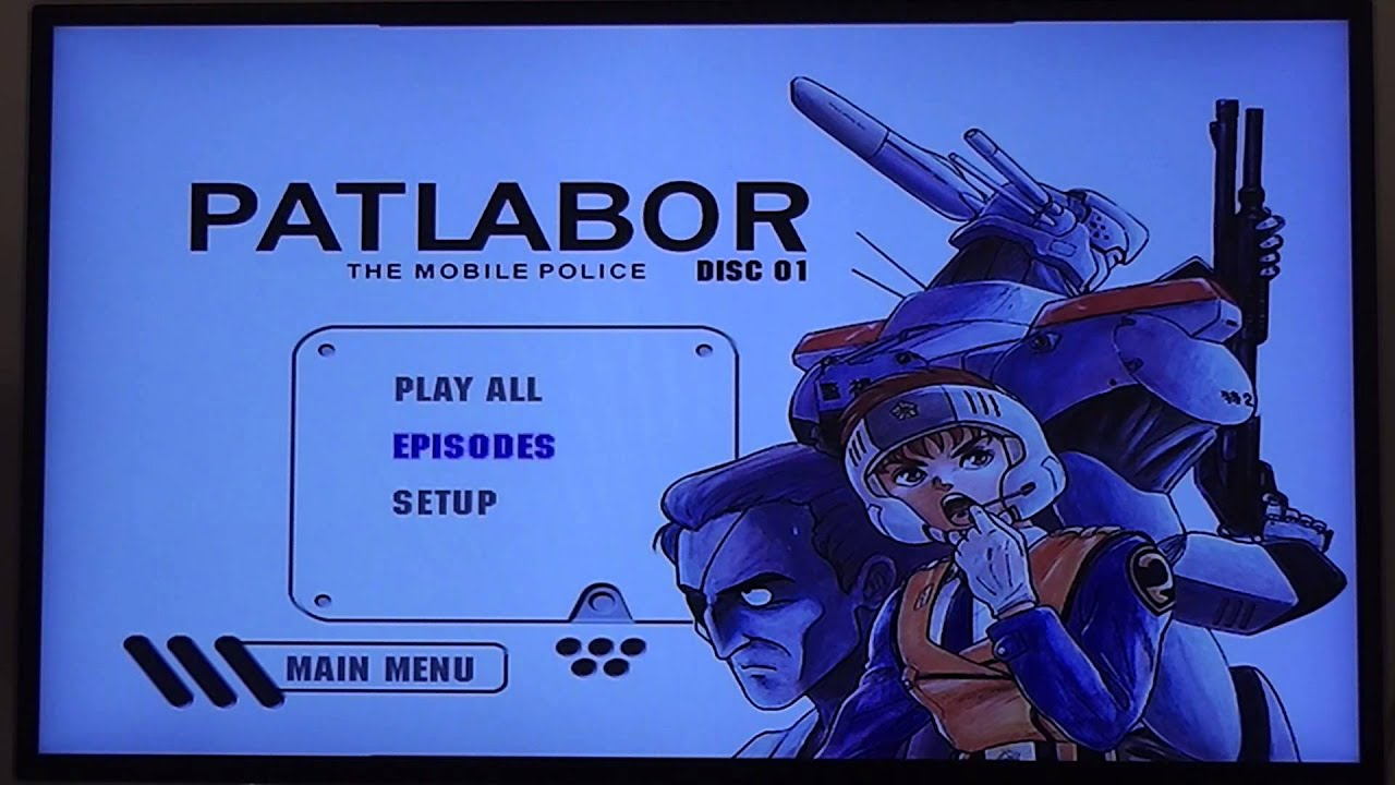 Through the mailbox: Patlabor OVA Collection 1 - Early Days - YouTube