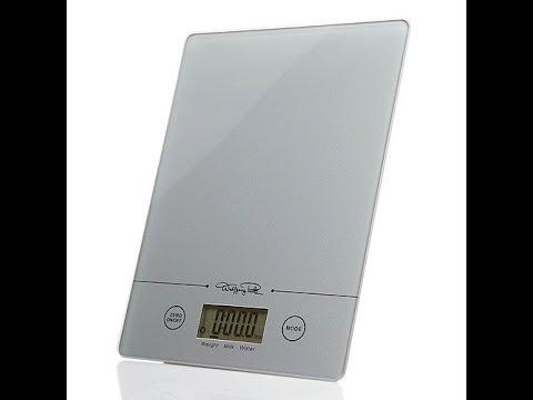 Slim Digital Kitchen Scale