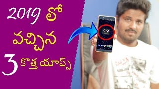 Top 3 New Android Apps On January 2019 In Telugu | By Telugu Creation