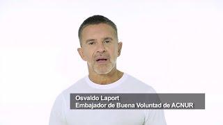 Osvaldo Laport está #ConLosRefugiados