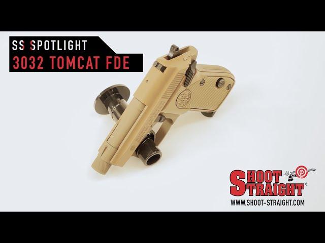 The Beretta 3032 Tomcat FDE Pistol
