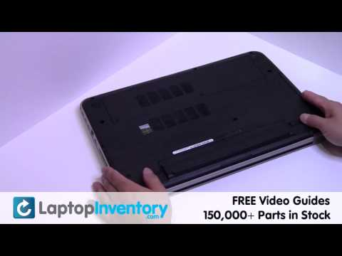 Dell 17R 15R Battery Replacement - Inspiron Laptop Notebook Install Guide, Replace