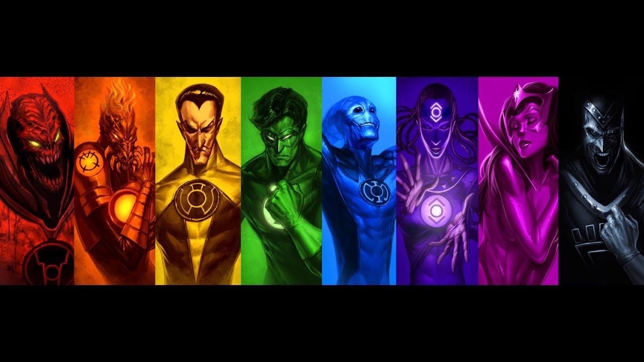 Kondaspeter: ประวัติ Lantern ทุกสี Part 1[Origin Of All Lantern Corps
