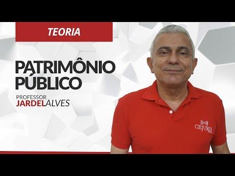 Patrimônio público - Professor Jardel Alves